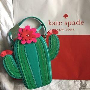kate Spade catcus cross body handbag